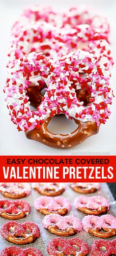 How To Make Chocolate Covered Pretzels for Valentine's Day -  a great step by step guide.