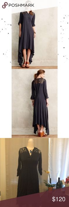 ⭐️Anthropologie Gypsy Tindaya Navy Blue Maxi Dress Brand new with tags. Product description included in photos. This is a fairly loose maxi dress, I would say it runs on the larger side. Size SMALL. Anthropologie Dresses Maxi