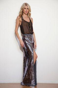 Fabulous sequin skirt by Alana Hale