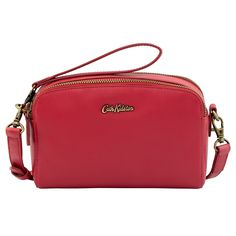 Mini Leather Double Zip Bag | Gifts Under £50 | CathKidston