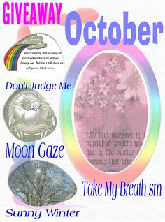 """OPEN...""""Win a FREE Pattern"""" for October 2015"""