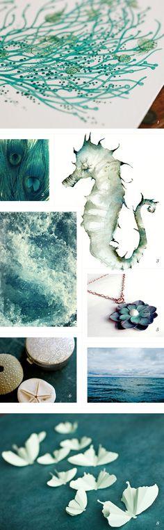colors of the sea / featured on dearestnature.com