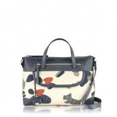 The Radley Dash Dog ziptop grab bag