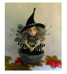 Astrid Anthropomorphic Frog Witch Fairy Art Doll  http://cgi.ebay.com/ws/eBayISAPI.dll?ViewItem=160888441411