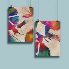 Watercolor Brushes, Watercolour Painting, Calendar 2014, Photoshop Brushes, Sports Art, Pigment Ink, All Print, Cotton Canvas, Giclee Print
