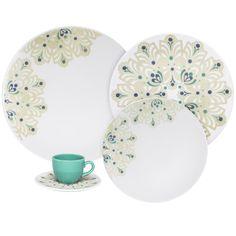 Oxford Porcelain Coup 12 Piece Lindy Hop Dinnerware Set
