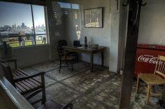 alcatraz guard room - Google Search