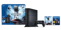 Sony tempts gamers with two $300 PlayStation 4 bundles Black Friday and Cyber Monday may be behind us now but Sony wants to keep people's shopping momentum going. The tech company today announced two PlayStation 4 bundles at a new low price: $300 each albeit for a limited time. First up there's the The Nathan Drake Collection version which includes a 500GB console and three remastered titles from the Uncharted franchise. Your other option is the Star Wars: Battlefront bundle and this comes…