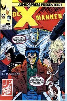 Strips - X-Men - Mannen!