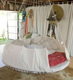 Recycle trampoline Indoor Hammock Bed                                                                                                                                                      Plus