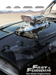 Fast and Furious! Badass! Click for more cool movie memorabilia and #autoart