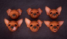 Russian Toy Magetic Heads! | See it here: store.evethecat.co… | Flickr Russian Toy Terrier, Store, Dogs, Fictional Characters, Tent, Shop Local, Doggies, Pet Dogs, Shop