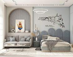 Luxury Kids Bedroom, Modern Kids Bedroom, Kids Bedroom Designs, Bedroom Bed Design, Modern Bedroom Design, Home Room Design, Kids Bedroom Boys, Kids Bed Design, Living Tv