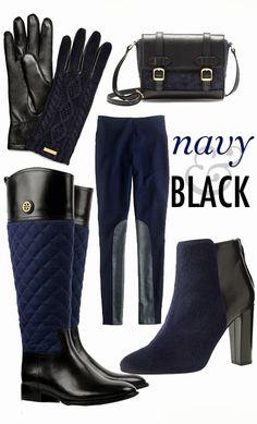 Navy & Black // Shun the non-believers
