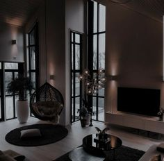 Dream House Interior, Luxury Homes Dream Houses, Dream Home Design, Modern House Design, My Dream Home, Dark Interiors, Aesthetic Rooms, Dream Rooms, House Rooms