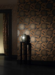 botanical floral tree wallcovering designs 135 pinterest. Black Bedroom Furniture Sets. Home Design Ideas