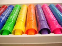 scented markers, loved these