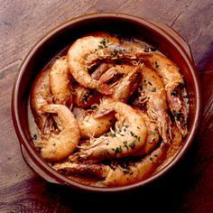 Shrimp with Garlic and Cayenne