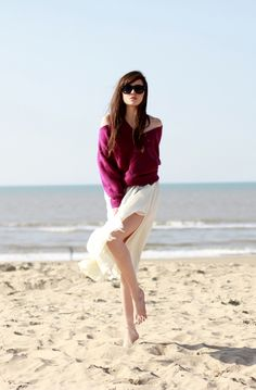 """Style Scrapbook: LOOK OF THE DAY """"THE BEACH"""""""