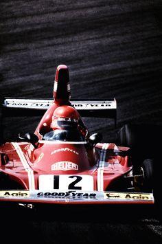 "chequeredflag: "" Niki Lauda Ferrari 312 T3 Spanish GP, Jarama, 1978 """