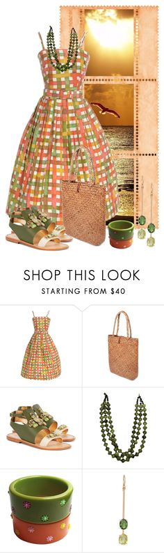 """""""Summer Bag..."""" by marvy1 ❤ liked on Polyvore featuring Religion Clothing, Sanchita, Irene Neuwirth, summerbag, holdontothatbag and hottbag"""