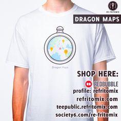 🐉 NEW DRAGON BALL DESIGN 🐉 for t-shirts, stickers, mugs and more! Available on --> Redbubble profile: refritomix | teepublic.refritomix.com | society6 profile: re-fritomix | refritomix.com #anime #boladedrac #boladedragon #bulma #dragonball #dragonballz #dragonballgt #dragonballsuper #dbz #goku #gohan #google #googlemaps #manga #radar #sayajin #series #tshirts #tee #tvseries #vegeta