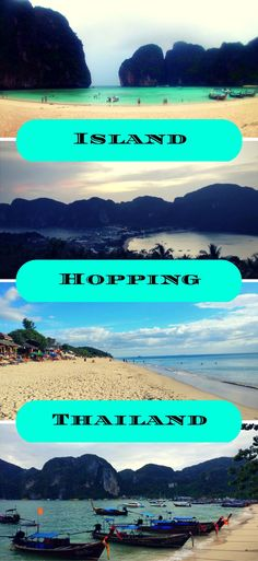 Thailand islands | Island hopping in Thailand | Best beaches in the world | best beaches in Thailand | Visit Thailand | Where to go in Thailand | travel to thailand | which is the best island in Thailand | tropical paradise | beach life in thailand