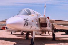 A North American RA-5C Vigilante at the PIMA Ar & Space Museum in Tucson, AZ. www.pimaair.org