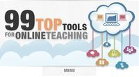 99 Top Tools for Online #Teaching - Prezi featured as no.7 #edtech #education