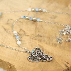 5X Or rose//argent Fraise forme Perles Cage Pendentif À faire soi-même Collier Craft