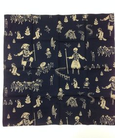 FREE SHIPPING, Skull Furoshiki, japanesefuroshiki, wrapping cloth, Japanese fabric, skull tapestry, Wall Hanging, ghost gift on Etsy, ¥712.77