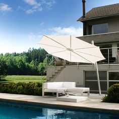 Shop Boxhill for modern pool furniture. Design the perfect oasis with contemporary outdoor pool furniture and decor. Choose from a variety of pool furniture and accessories. Outdoor Pool Furniture, Outdoor Decor, Patio Accessories, Cantilever Umbrella, Modern Pools, Cool Pools, Outdoor Living, Outdoor Umbrellas, Dive Bar