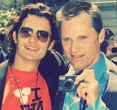 Viggo and Orlando