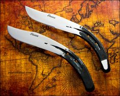 Horseshoe Knives by Logan-Pearce.deviantart.com on @deviantART