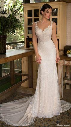 naama anat bridal 2017 sleeveless beaded straps sweetheart trumpet wedding dress - Deer Pearl Flowers / http://www.deerpearlflowers.com/wedding-dress-inspiration/naama-anat-bridal-2017-sleeveless-beaded-straps-sweetheart-trumpet-wedding-dress/