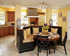 Superieur CENTER ISLAND KITCHEN W TABLE   Google Search