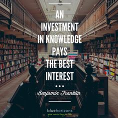 If you put in the work and investment at the beginning, you will reap the rewards of the interest later! #thoughtfulthursday