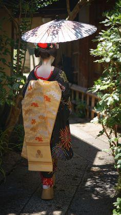 2016 舞妓 先斗町 市結さん 2016 maiko, Pontocho, Ichiyu