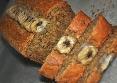 Gluten free Coconut Banana Bread! Going to make this tonight, make muffins instead and sprinkle coconut flakes on top with a slice of banana(maaaaybe some cinnamon) ahhhh, enjoying my day off! :)