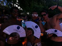 Custom made fans for CIROC. The perfect item for all your marketing and promotions this summer! Fangirlmiami.com