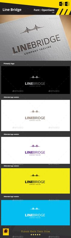 Buy Line Bridge Logo Template by on GraphicRiver. Line Bridge Logo Template Suitable for: Logo Design Template, Logo Templates, Logo Branding, Branding Design, Logo Marketing, S Letter Logo, Bridge Logo, Medical Logo, Studio Logo