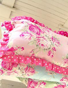 More Ava Rose pillows by Tanya Whelan, via Flickr