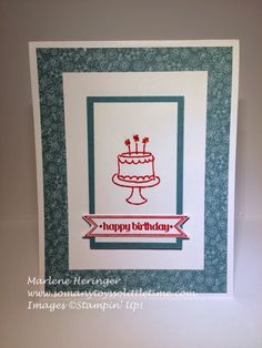 So Many Toys So Little Time...: Pals Paper Arts 248, Stampin Up, Endless Birthday Wishes, All Abloom
