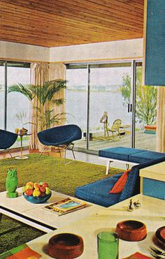 Pretty retro home decor advice, a must study pin ref 7969061538 for that fab decor. 1960s Interior, Mid-century Interior, Home Interior Design, 1960s Home Decor, 70s Decor, Diy Home Decor, Living Room Decor Inspiration, Vintage Industrial Decor, Vintage Room