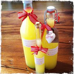 Limoncello selbstgemacht.