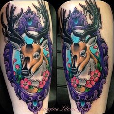 Tattoo by Georgina Liliane @georginatattoo