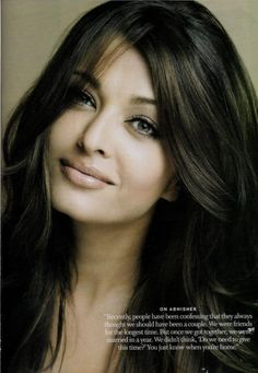 Picture of Aishwarya Rai - beautiful! You just know when you're home <3