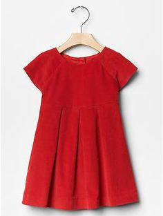 Corduroy pleat dress   Gap - My girls are going to look stinkin' adorable this Christmas!