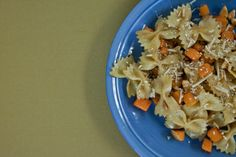 Pan Fried Pasta with Butternut Squash and Sage