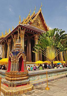 Wat Phra Kaew, Grand Palace - Bangkok, Thailand